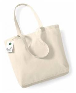 Sac shopping coton bio 100% certifié par Control Union