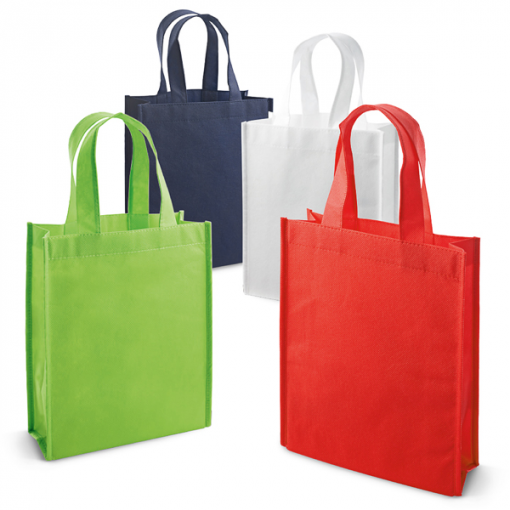 Sac shopping intissé recyclable petit format