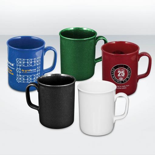 Mug écologique en plastique recyclé