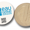 Badge écologique 100% biodégradable