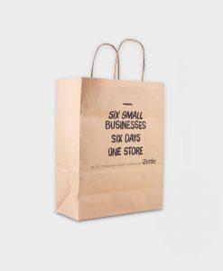 Sac en papier durable ARBRE A BULLES