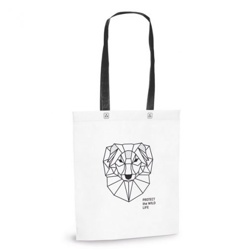 Sac shopping totebag publicitaire intissé recyclable