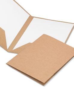 Porte documents A4 en carton recyclé