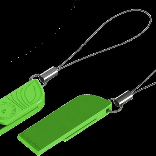 clé USB en bioplastique biodégradable et compostable, écoconçue et fabriquée en France