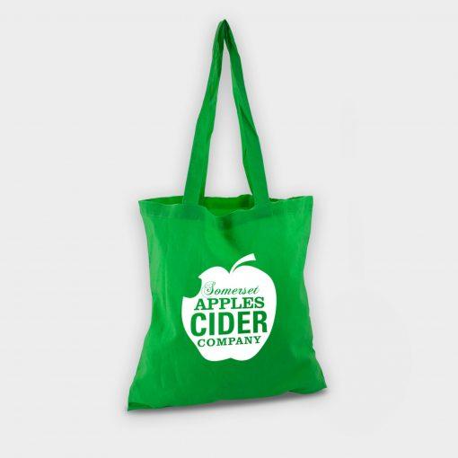 Sac shopping totebag écologique ARBRE A BULLES vert