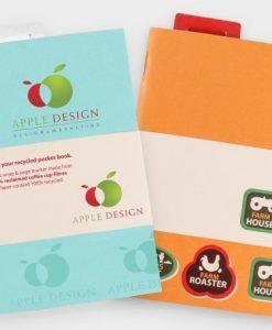 Carnet de notes A6 écologique en gobelets et papier recyclés