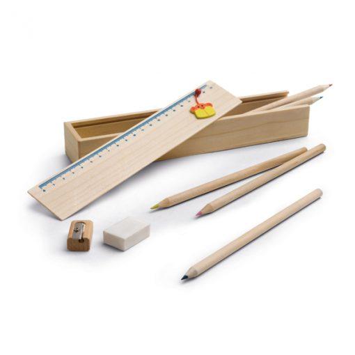 Kit de dessin écologique en bois