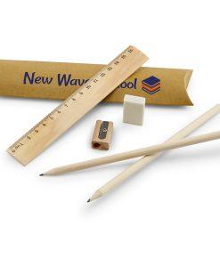 Kit d'écriture écologique en bois