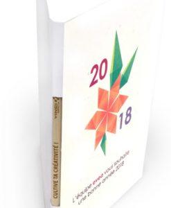 carte de vœux personnalisée avec son crayon à graines