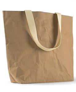 Sac shopping élégant et écoresponsable en papier Tyvek