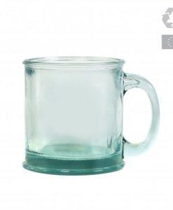 mug écologique en verre recyclé